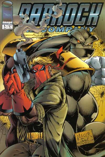 Badrock and Company #5 comic books for sale