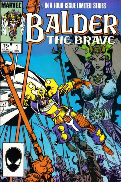 Balder the Brave Comic Books. Balder the Brave Comics.