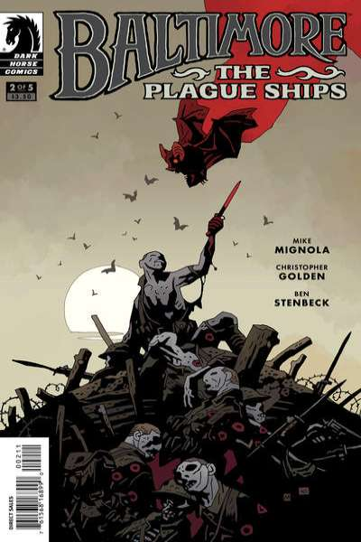 Baltimore: The Plague Ships #2 Comic Books - Covers, Scans, Photos  in Baltimore: The Plague Ships Comic Books - Covers, Scans, Gallery