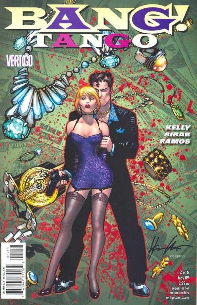 Bang! Tango #2 comic books - cover scans photos Bang! Tango #2 comic books - covers, picture gallery