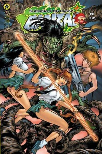 Banzai Girl #4 comic books for sale