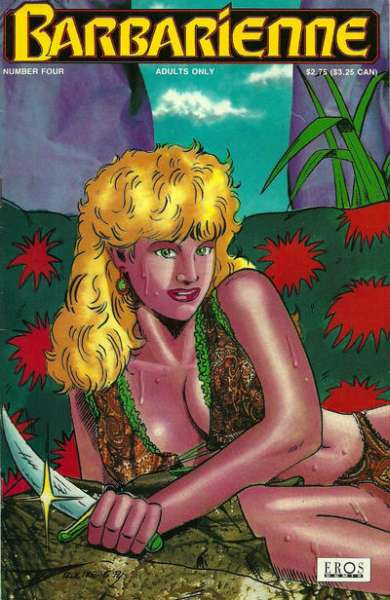 Barbarienne #4 comic books for sale