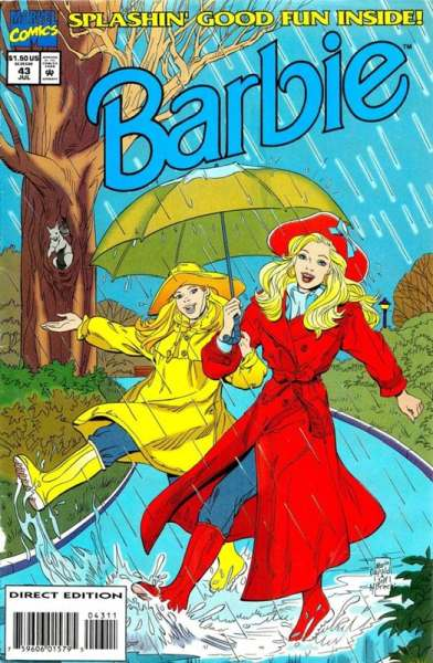 Barbie #43 comic books - cover scans photos Barbie #43 comic books - covers, picture gallery