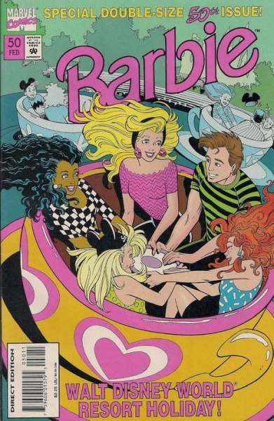 Barbie #50 Comic Books - Covers, Scans, Photos  in Barbie Comic Books - Covers, Scans, Gallery