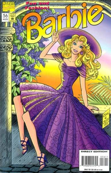 Barbie #56 Comic Books - Covers, Scans, Photos  in Barbie Comic Books - Covers, Scans, Gallery