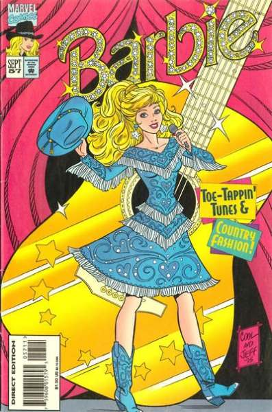 Barbie #57 comic books - cover scans photos Barbie #57 comic books - covers, picture gallery