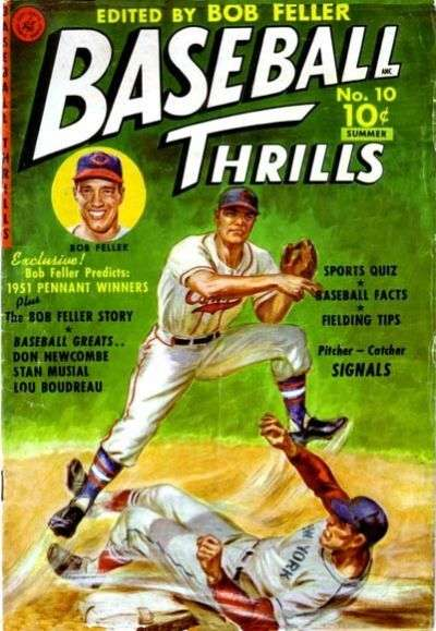 Baseball Thrills comic books