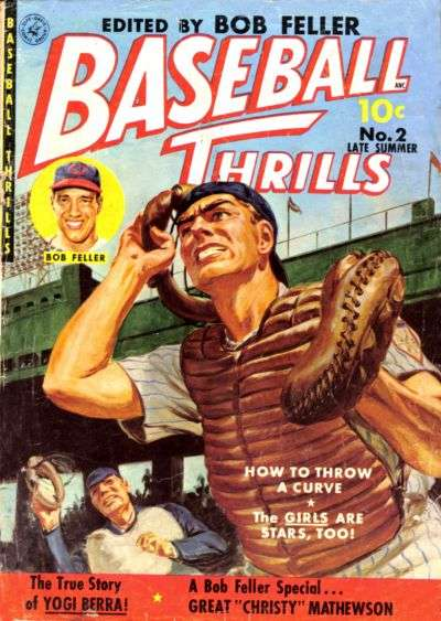 Baseball Thrills #2 Comic Books - Covers, Scans, Photos  in Baseball Thrills Comic Books - Covers, Scans, Gallery
