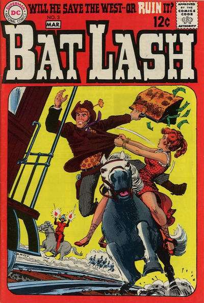 Bat Lash #3 Comic Books - Covers, Scans, Photos  in Bat Lash Comic Books - Covers, Scans, Gallery