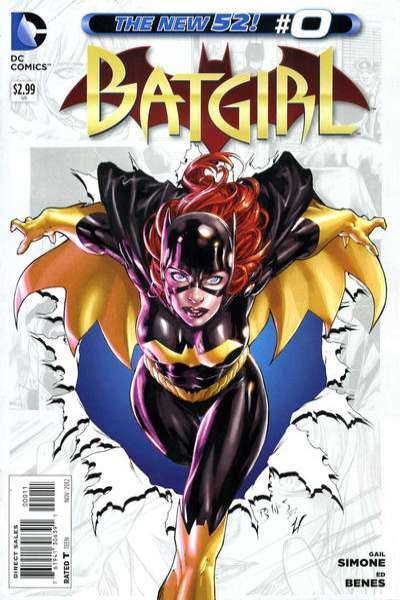 Batgirl #0 comic books - cover scans photos Batgirl #0 comic books - covers, picture gallery