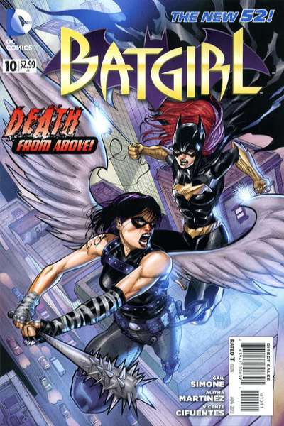 Batgirl #10 Comic Books - Covers, Scans, Photos  in Batgirl Comic Books - Covers, Scans, Gallery