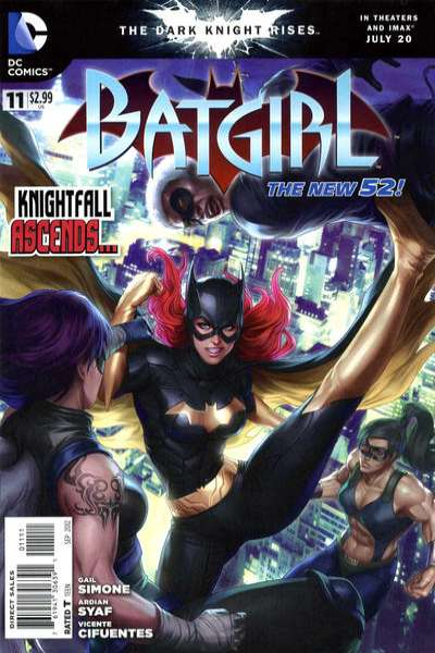 Batgirl #11 Comic Books - Covers, Scans, Photos  in Batgirl Comic Books - Covers, Scans, Gallery