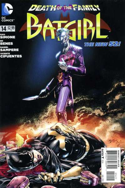 Batgirl #14 Comic Books - Covers, Scans, Photos  in Batgirl Comic Books - Covers, Scans, Gallery