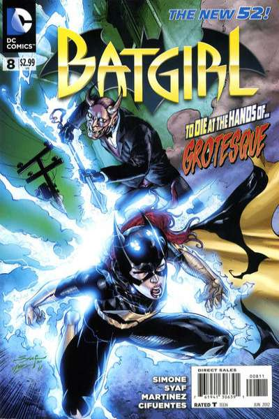 Batgirl #8 Comic Books - Covers, Scans, Photos  in Batgirl Comic Books - Covers, Scans, Gallery