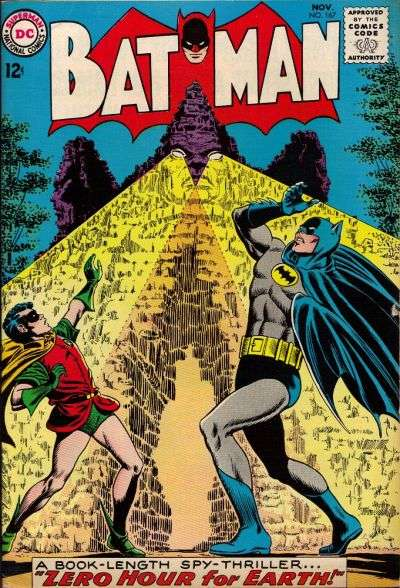 Batman #167 Comic Books - Covers, Scans, Photos  in Batman Comic Books - Covers, Scans, Gallery