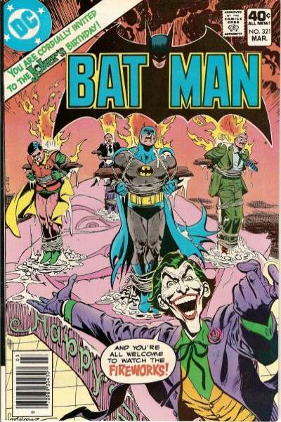 Batman #321 Comic Books - Covers, Scans, Photos  in Batman Comic Books - Covers, Scans, Gallery