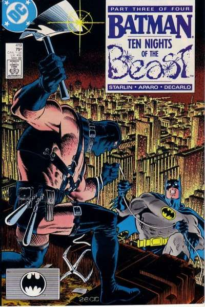 Batman #419 Comic Books - Covers, Scans, Photos  in Batman Comic Books - Covers, Scans, Gallery