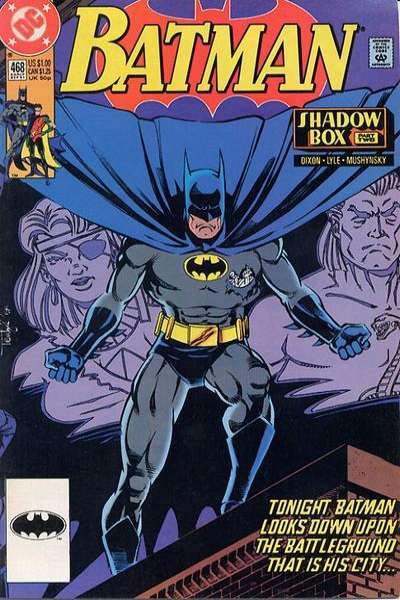 Batman #468 Comic Books - Covers, Scans, Photos  in Batman Comic Books - Covers, Scans, Gallery