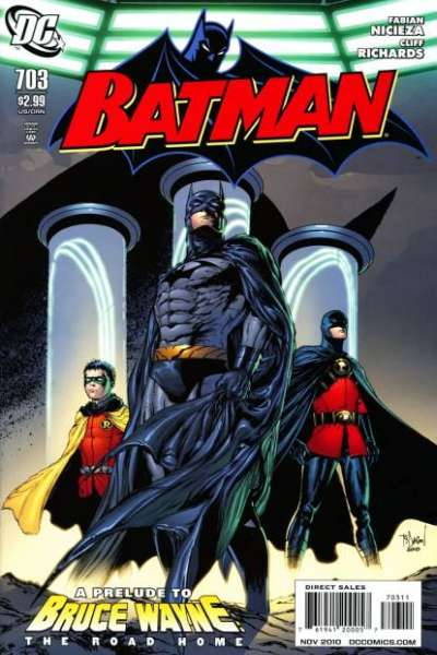 Batman #703 comic books - cover scans photos Batman #703 comic books - covers, picture gallery