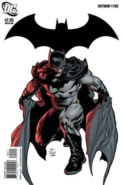 Batman #706 comic books - cover scans photos Batman #706 comic books - covers, picture gallery