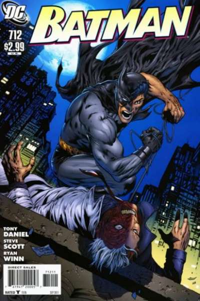 Batman #712 Comic Books - Covers, Scans, Photos  in Batman Comic Books - Covers, Scans, Gallery