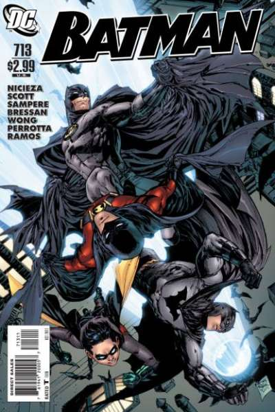 Batman #713 Comic Books - Covers, Scans, Photos  in Batman Comic Books - Covers, Scans, Gallery