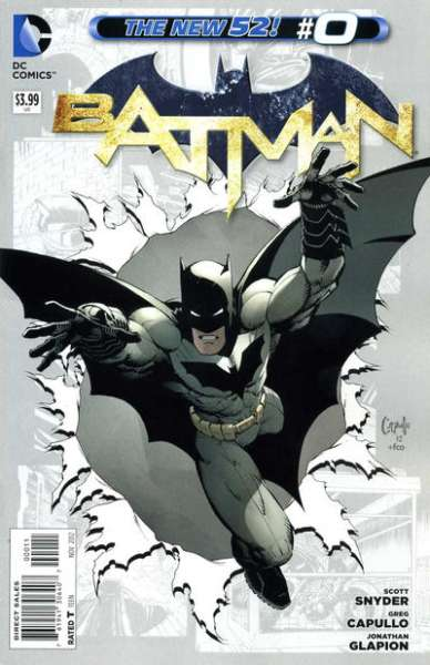 Batman #0 comic books - cover scans photos Batman #0 comic books - covers, picture gallery