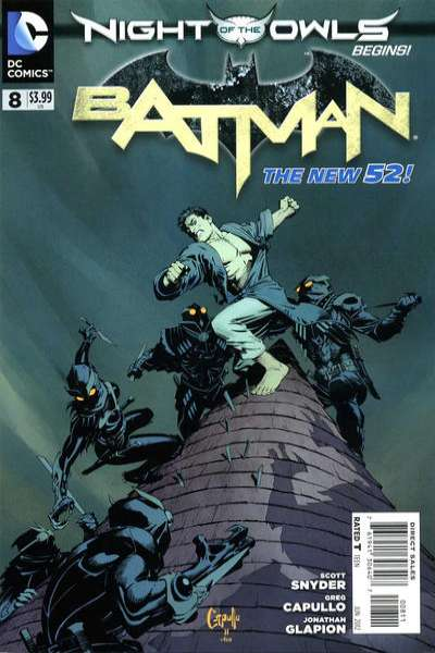 Batman #8 Comic Books - Covers, Scans, Photos  in Batman Comic Books - Covers, Scans, Gallery