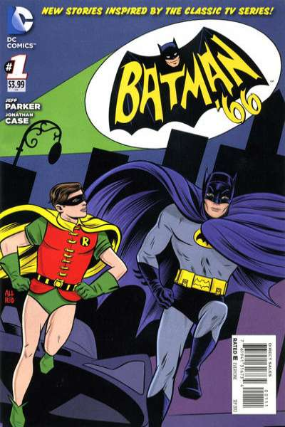 Batman '66 comic books