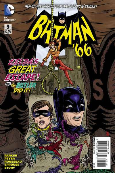Batman '66 #9 comic books - cover scans photos Batman '66 #9 comic books - covers, picture gallery