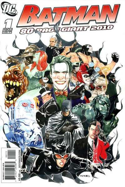 Batman: 80-Page Giant 2010 #1 comic books for sale