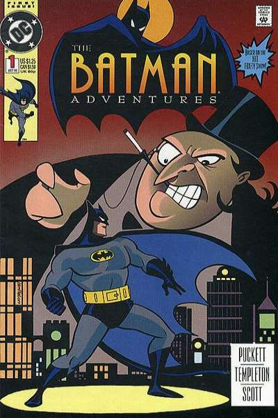 Batman Adventures #1 Comic Books - Covers, Scans, Photos  in Batman Adventures Comic Books - Covers, Scans, Gallery