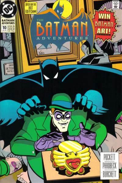 Batman Adventures #10 Comic Books - Covers, Scans, Photos  in Batman Adventures Comic Books - Covers, Scans, Gallery