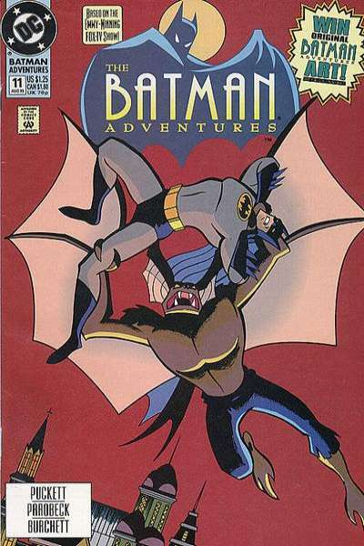 Batman Adventures #11 Comic Books - Covers, Scans, Photos  in Batman Adventures Comic Books - Covers, Scans, Gallery