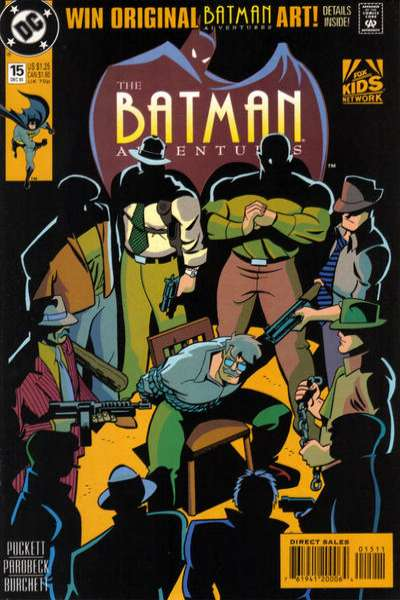 Batman Adventures #15 Comic Books - Covers, Scans, Photos  in Batman Adventures Comic Books - Covers, Scans, Gallery