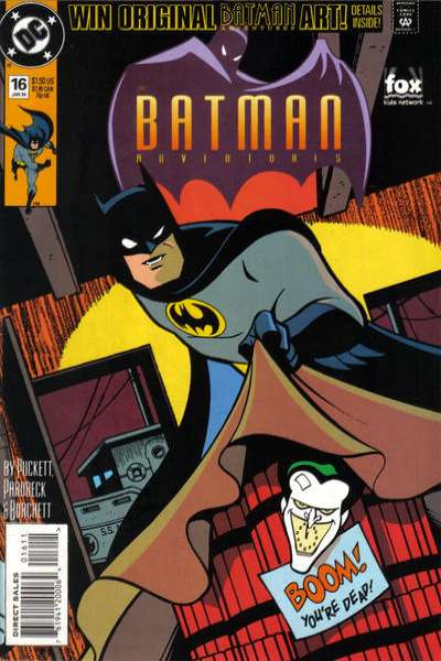 Batman Adventures #16 Comic Books - Covers, Scans, Photos  in Batman Adventures Comic Books - Covers, Scans, Gallery