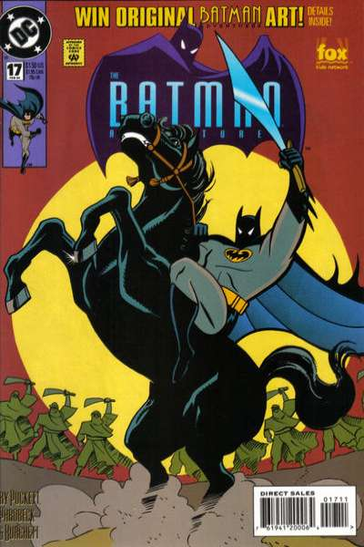 Batman Adventures #17 Comic Books - Covers, Scans, Photos  in Batman Adventures Comic Books - Covers, Scans, Gallery