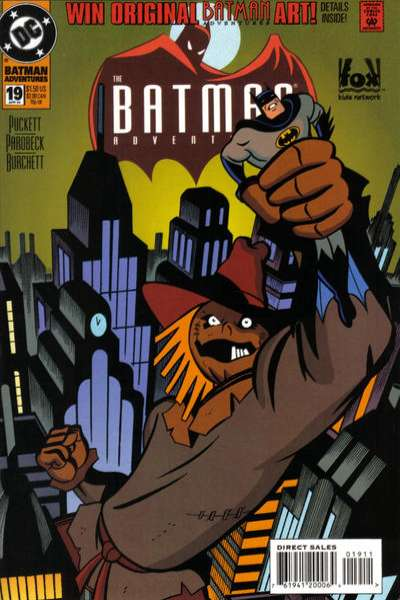 Batman Adventures #19 Comic Books - Covers, Scans, Photos  in Batman Adventures Comic Books - Covers, Scans, Gallery
