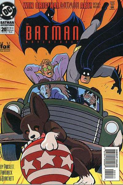 Batman Adventures #20 Comic Books - Covers, Scans, Photos  in Batman Adventures Comic Books - Covers, Scans, Gallery