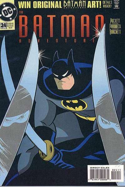 Batman Adventures #24 comic books for sale