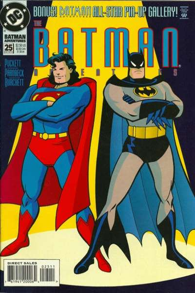 Batman Adventures #25 Comic Books - Covers, Scans, Photos  in Batman Adventures Comic Books - Covers, Scans, Gallery