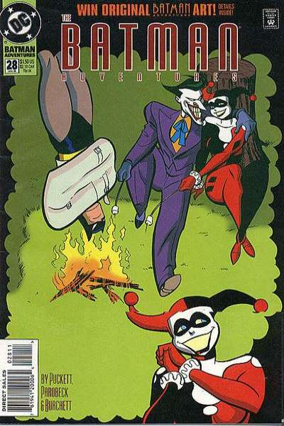 Batman Adventures #28 Comic Books - Covers, Scans, Photos  in Batman Adventures Comic Books - Covers, Scans, Gallery