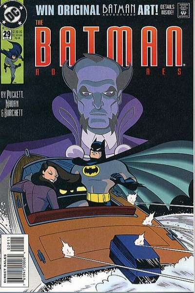 Batman Adventures #29 Comic Books - Covers, Scans, Photos  in Batman Adventures Comic Books - Covers, Scans, Gallery
