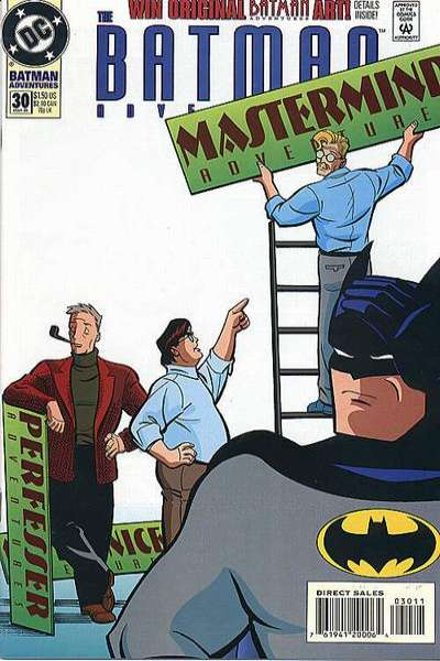 Batman Adventures #30 comic books for sale