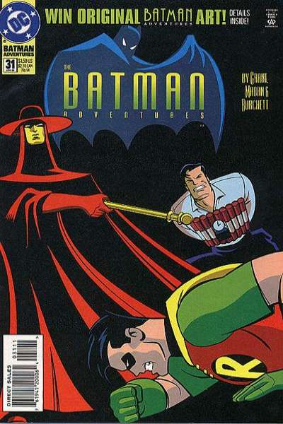 Batman Adventures #31 Comic Books - Covers, Scans, Photos  in Batman Adventures Comic Books - Covers, Scans, Gallery