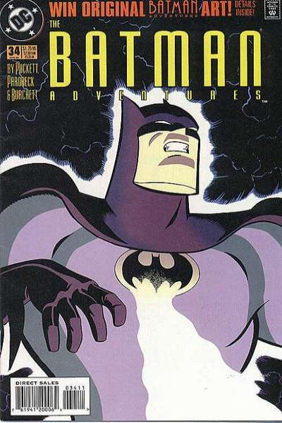 Batman Adventures #34 comic books for sale