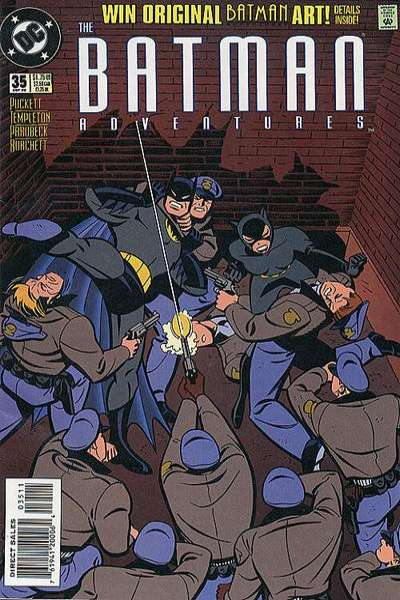 Batman Adventures #35 Comic Books - Covers, Scans, Photos  in Batman Adventures Comic Books - Covers, Scans, Gallery