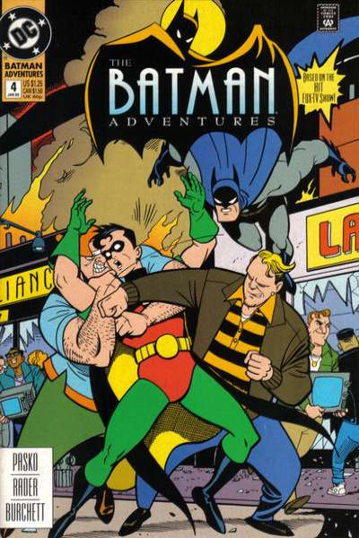 Batman Adventures #4 comic books for sale