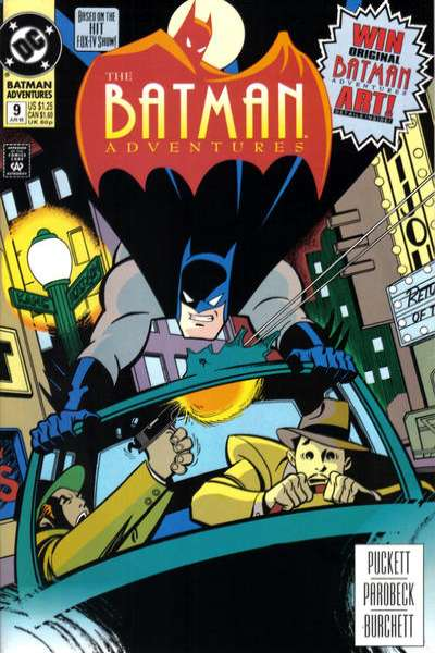Batman Adventures #9 comic books for sale