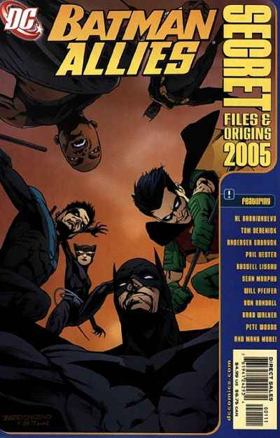 Batman: Allies Secret Files and Origins Comic Books. Batman: Allies Secret Files and Origins Comics.